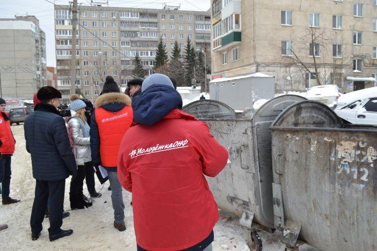 «Молодежка ОНФ» помогла жителям частного сектора Уфы решить вопрос с установкой мусорных контейнеров