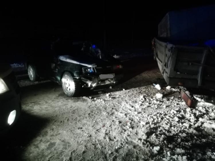 В Башкирии кроссовер столкнулся с ГАЗелью: есть пострадавшие