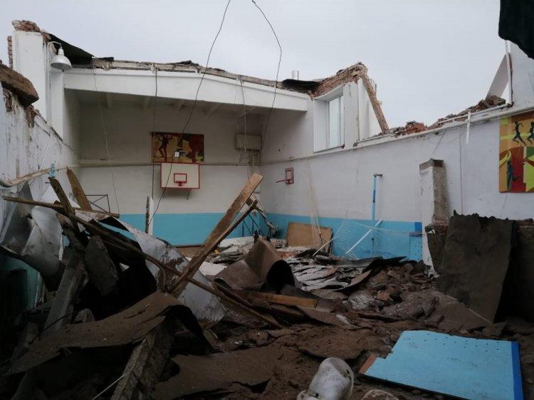 В Башкирии рухнула кровля школьного спортзала