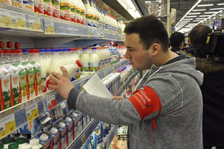 «Народный контроль» выявил нарушения при маркировке молочной продукции