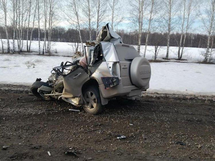 Жуткое ДТП в Башкирии: водитель погиб, его 6-летний сын чудом выжил