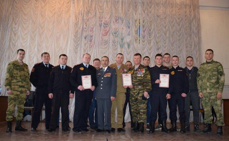 В Уфе ветераны и сотрудники Росгвардии померились силами в конкурсе «А, ну-ка, парни!»