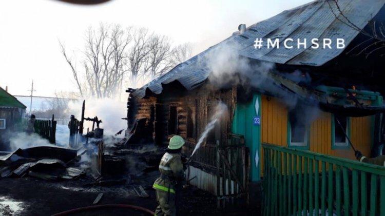 Три женщины погибли при страшном пожаре в Башкирии