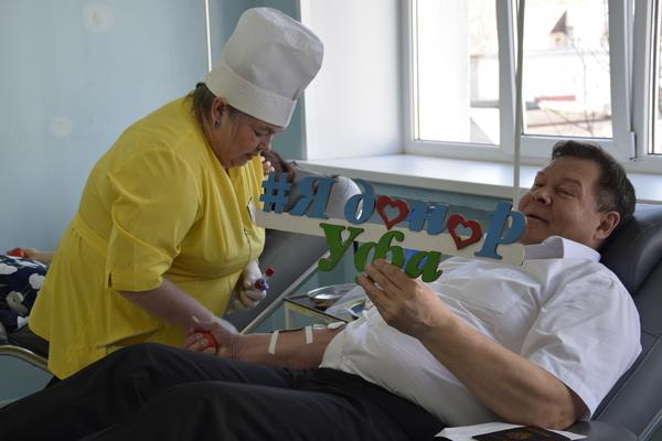 Артисты Башкортостана включились в акцию «Добрый донор»