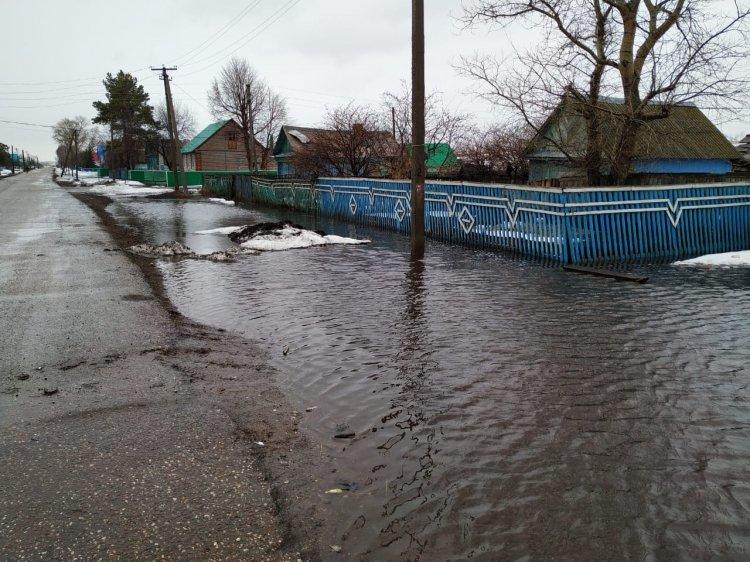 Паводок подтопил деревню в Стерлитамакском районе Башкирии