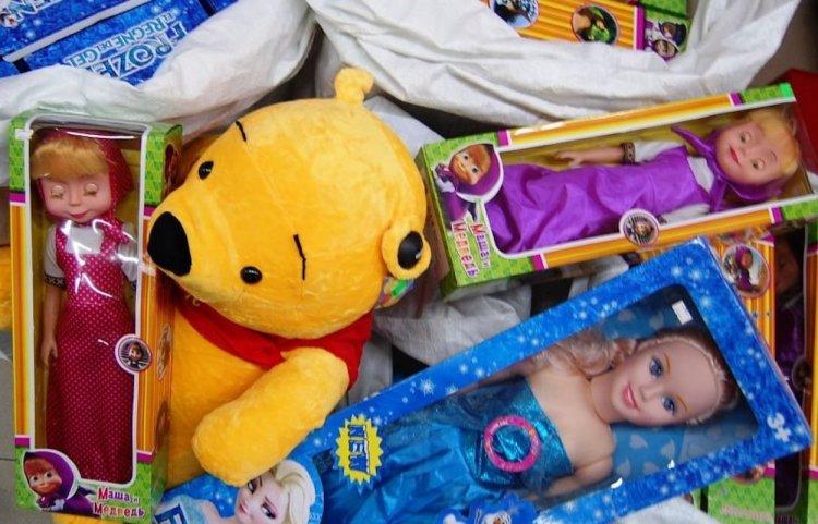 В крупном торговом центре Стерлитамака продавали контрафактные игрушки