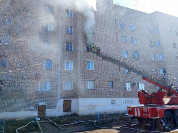 В Башкирии при пожаре в квартире погиб 56-летний мужчина