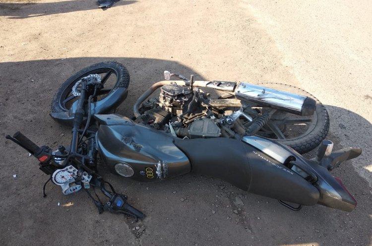 В Башкирии школьник на скутере пострадал при столкновении с автомобилем