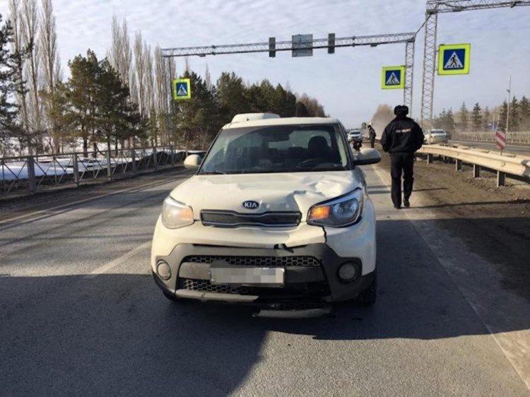 В Уфе водитель Kia Soul насмерть ребёнка на пешеходном переходе
