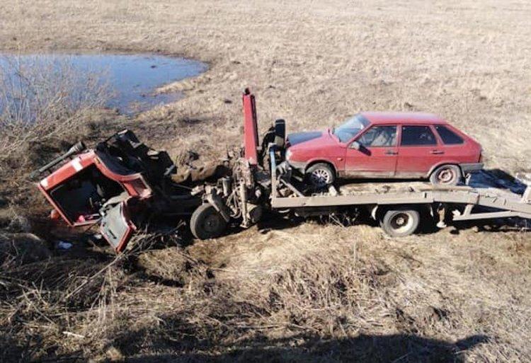 В Башкирии 48-летний водитель эвакуатора скончался под колесами своего транспорта