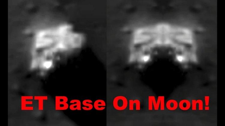 Исследователи ищут объяснение странной белой структуре на поверхности Луны