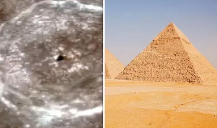 Пришельцы возвели пирамиды в Египте, такие же, как на Луне