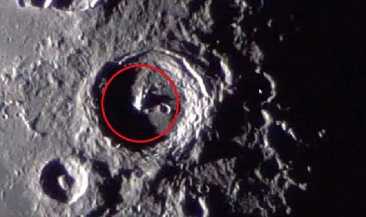 На Луне обнаружена странная конструкция гигантских размеров