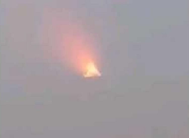 В интернете появилось видео сбитого НЛО