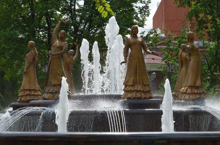 В столице Башкирии открылся сезон работы фонтанов