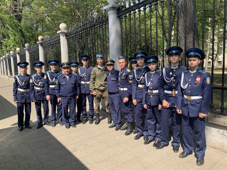 Воспитанники Башкирского кадетского корпуса ПФО посетили генеральную репетицию Парада Победы в Москве
