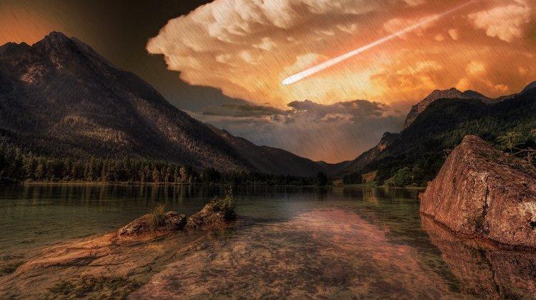 Вот что произойдет с Землей в результате удара астероида в 500 км