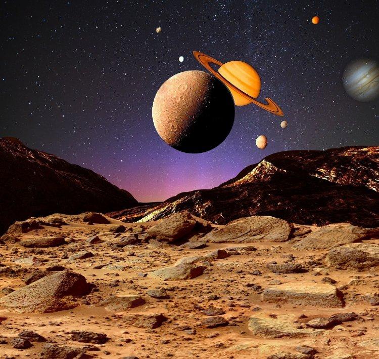 23 мая жители Башкирии смогут увидеть сближение Луны и Сатурна