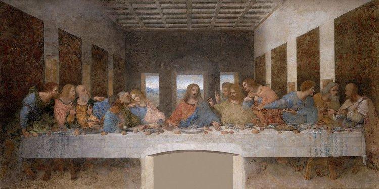 Леонардо да Винчи зашифровал дату Судного Дня в своей фреске «Тайная вечеря»