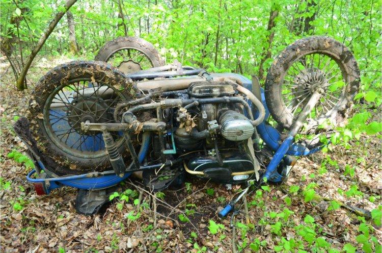 В Башкирии в лесу найден погибший в ДТП 60-летний мотоциклист