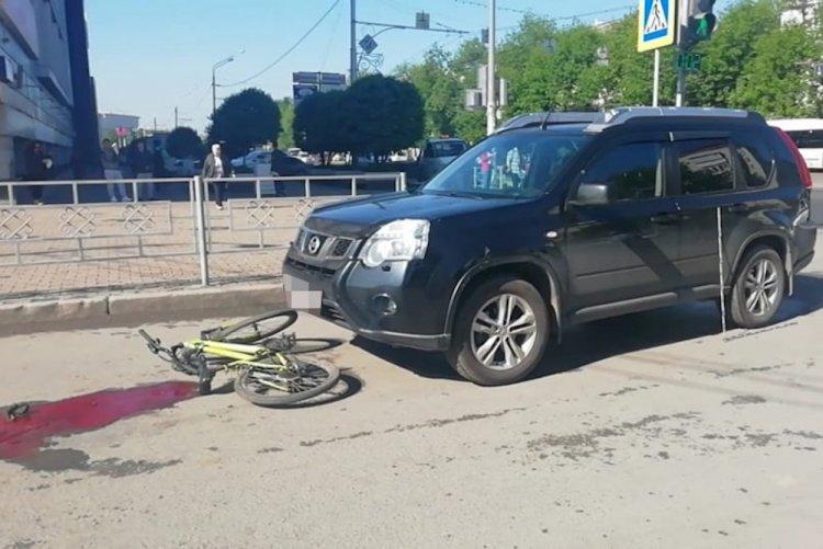 В Уфе внедорожник насмерть сбил 9-летнего велосипедиста
