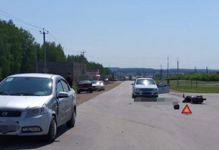 В Башкирии в ДТП погиб 66-летний водитель скутера