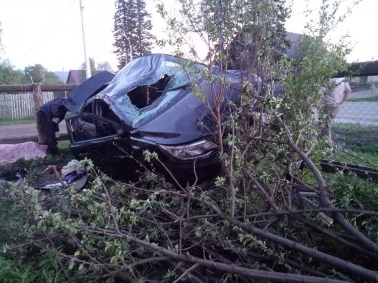 В Башкирии пьяный водитель влетел в огород и насмерть сбил пенсионерку
