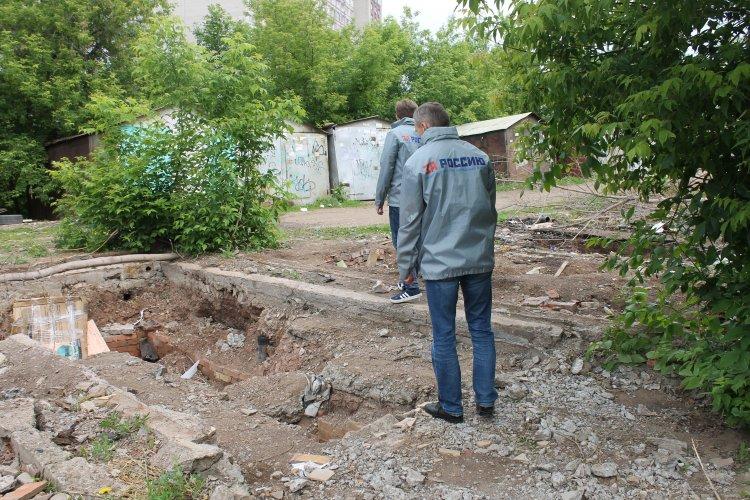 Активисты ОНФ просят администрацию Кировского района Уфы принять меры безопасности при демонтаже гаражей