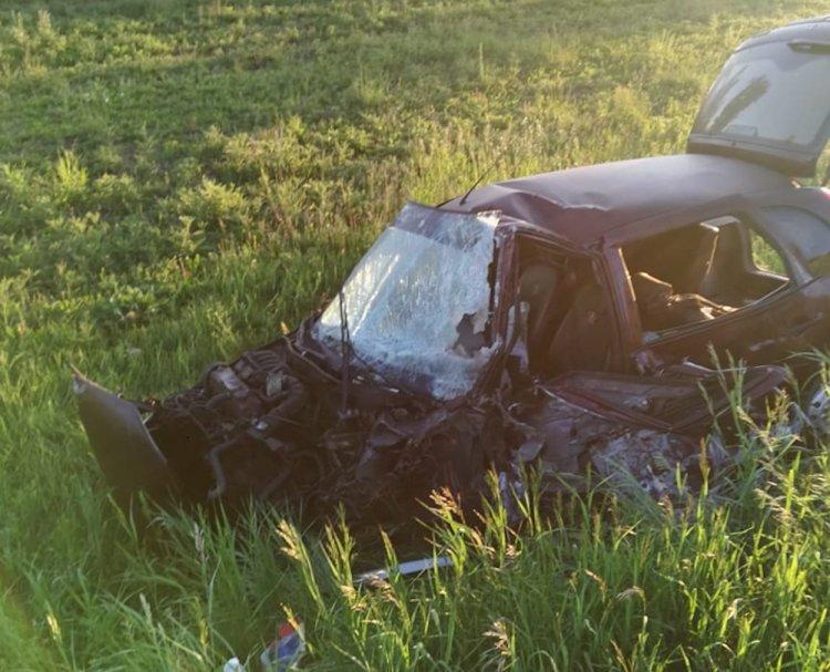 Смертельное ДТП в Башкирии: столкнулись «Калина» и грузовик
