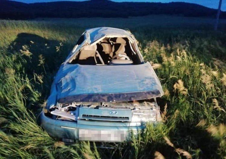 В Кугарчинском районе опрокинулся ВАЗ-2110, погиб пассажир