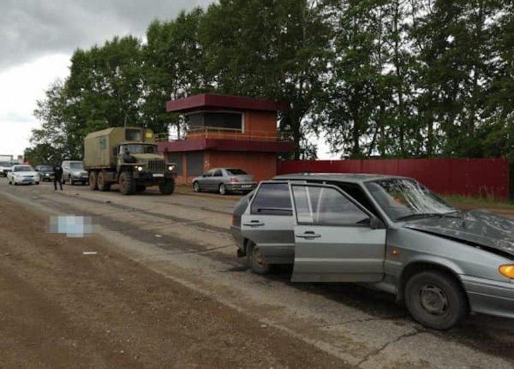 Женщина-пешеход погибла под колесами автомобиля в Башкирии