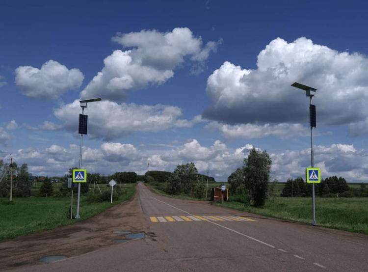 В Башкирии устанавливают автономные системы «Безопасный переход»