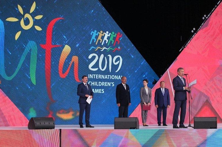 В Уфе стартовали Летние Международные детские игры