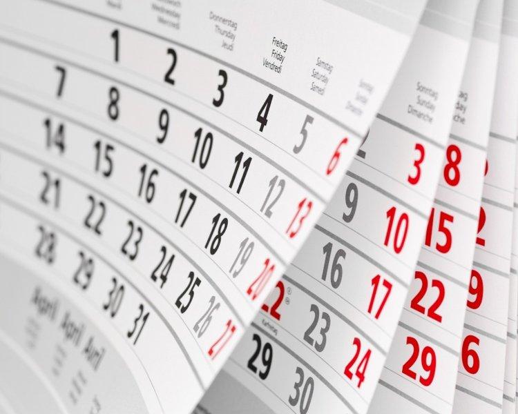 Правительство утвердило календарь выходных дней на 2020 год