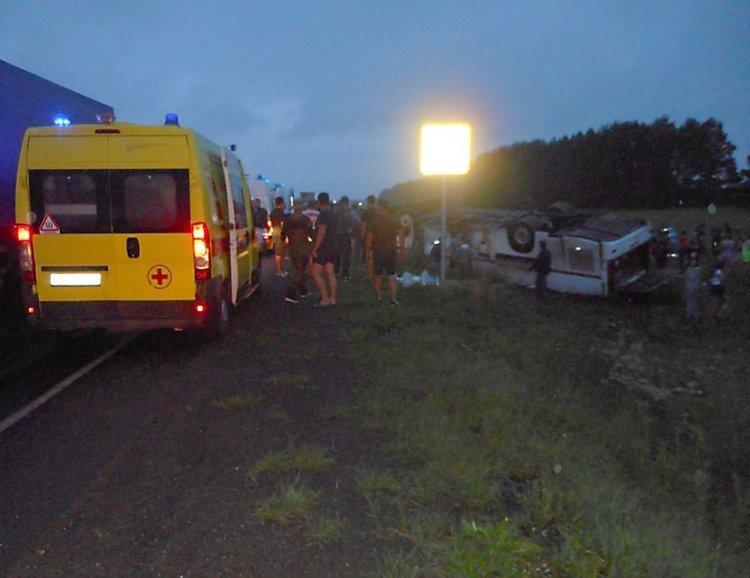 В Башкирии задержали водителя автобуса, который устроил ДТП с 6 жертвами