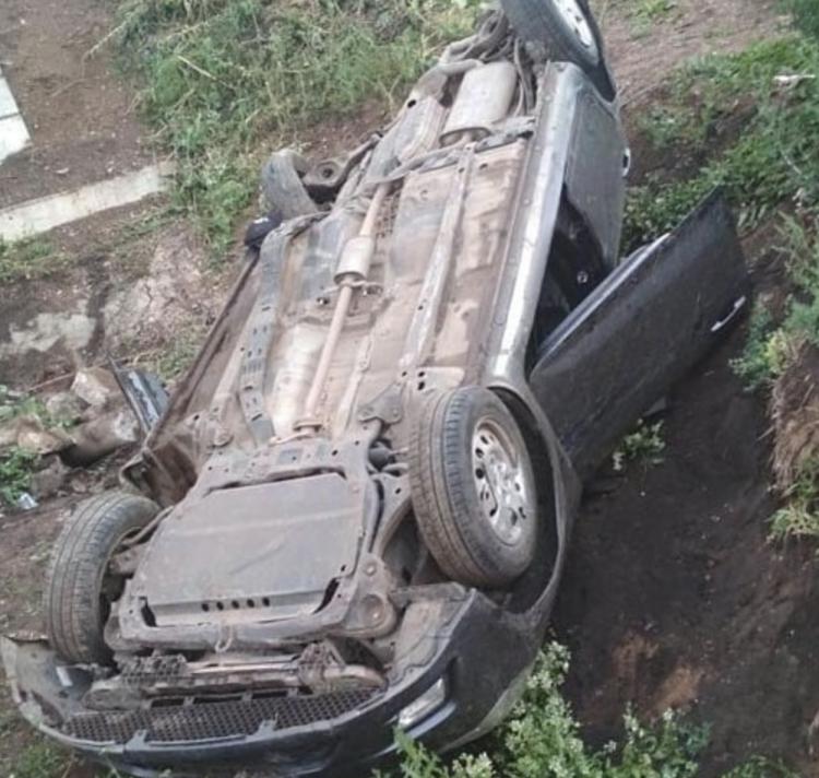 В Башкирии столкнулись Kia Ceed и Renault Sandero, двое пострадали