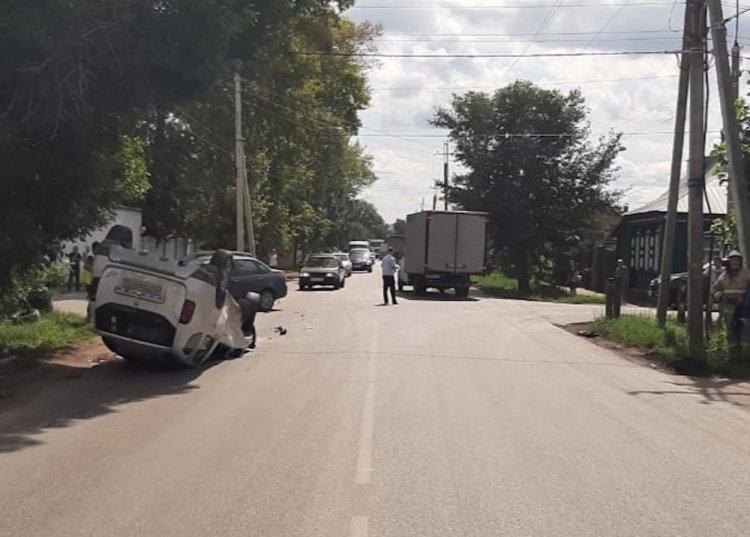 В Стерлитамаке автоледи на «Гранте» не уступила дорогу иномарке, есть погибший
