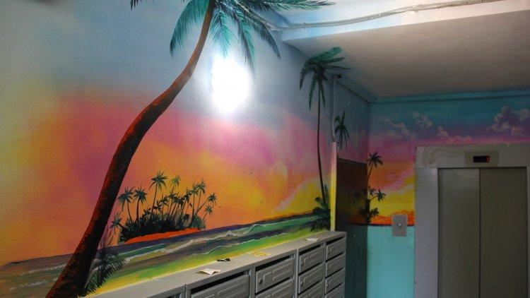 В Салавате подъезды домов превратились в картинную галерею
