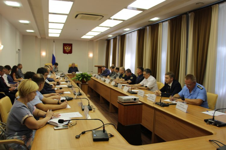 Главный федеральный инспектор провел в Уфе совещание по вопросам обеспечения безопасности дорожного движения