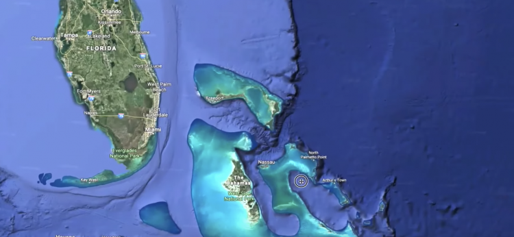Ученый обнаружил инопланетную базу на дне океана