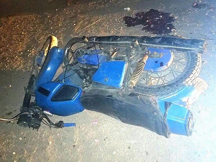 В Башкирии трое подростков на мотоцикле разбились в ДТП