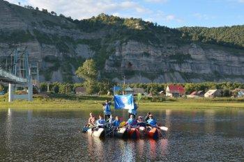 Работу мобильных приложений электронных сервисов ФНС РФ протестировали во время сплава по реке Зилим