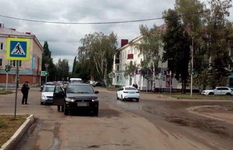 В Башкирии автоледи за рулем Mitsubishi Outlander сбила пенсионерку