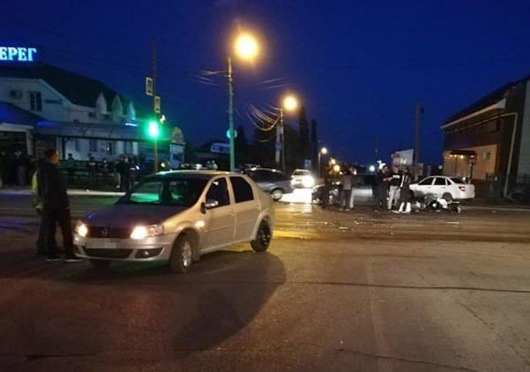 Смертельное ДТП: в Стерлитамаке мотоцикл столкнулся с двумя автомобилями