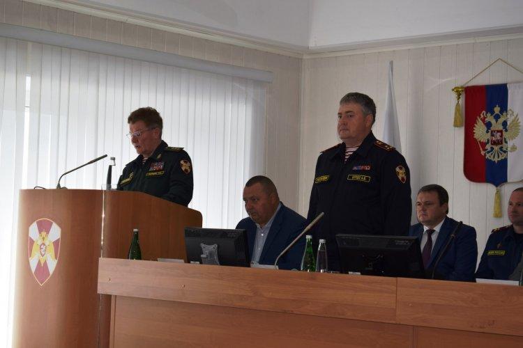 В Уфе представлен новый начальник Управления Росгвардии по Республике Башкортостан
