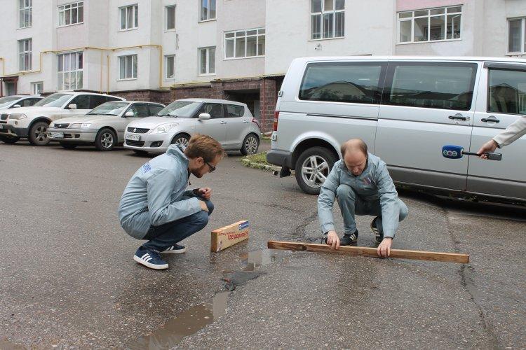 Башкирские активисты ОНФ нашли на дорогах Уфы искусственные неровности, не соответствующие нормам