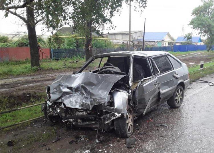 Под Стерлитамаком в страшном ДТП погибла 30-летняя женщина, ее 4-летний сын госпитализирован