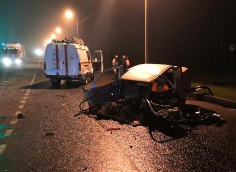 В страшном ДТП в Башкирии погибла женщина, еще трое  пострадали