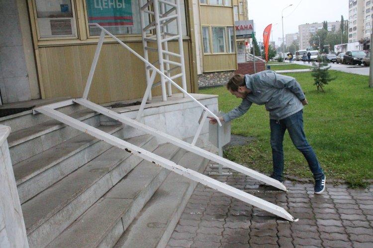 Активисты ОНФ в Башкортостане просят власти сделать уфимские аптеки доступными для людей с инвалидностью