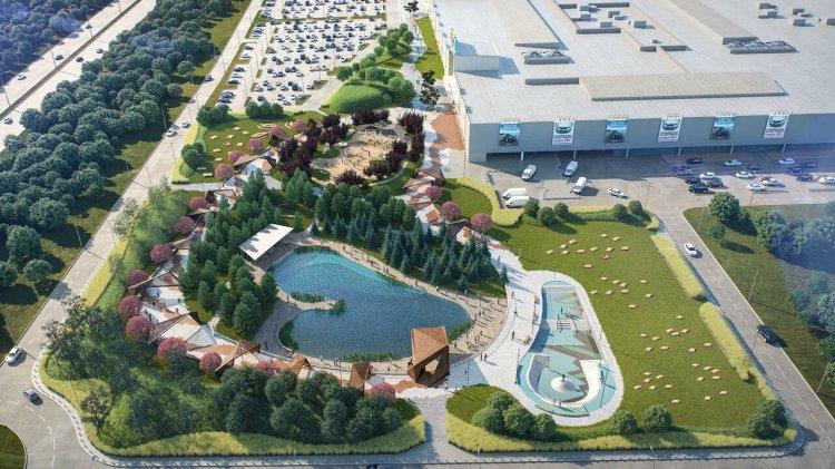В Уфе появится новый парк с водоёмом